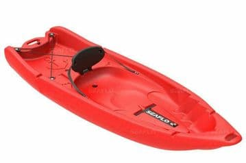 SIT ON TOP KAYAK - ADULT and CHILD (SF-2002) - RED canoe water sports joey